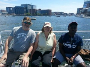 Jacktone with Sue Pranger and Dan Thomas – Boston Harbor Tour